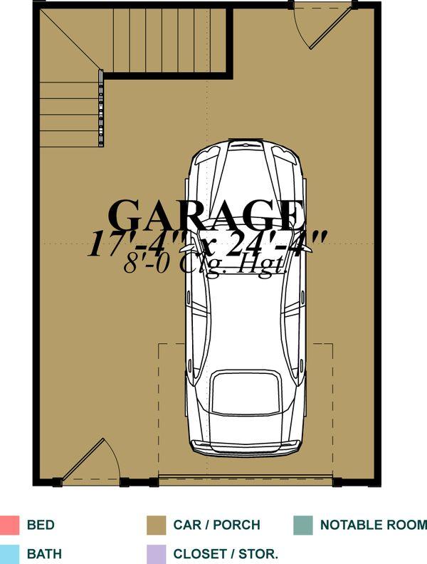 Traditional Floor Plan - Main Floor Plan Plan #63-338