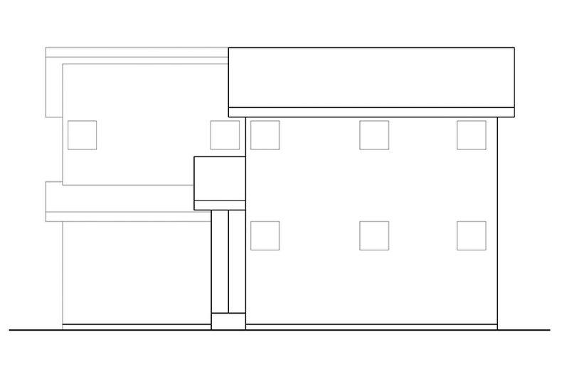 Contemporary Exterior - Other Elevation Plan #569-11 - Houseplans.com