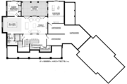 Country Style House Plan - 4 Beds 3.5 Baths 3829 Sq/Ft Plan #928-294 Floor Plan - Lower Floor