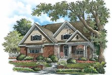 House Plan Design - Traditional Exterior - Front Elevation Plan #929-775