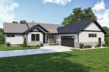 House Design - Craftsman Exterior - Front Elevation Plan #1070-128