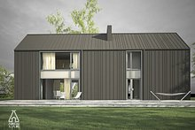 Modern Exterior - Rear Elevation Plan #552-3