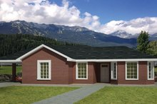 House Plan Design - Ranch Exterior - Front Elevation Plan #1061-31