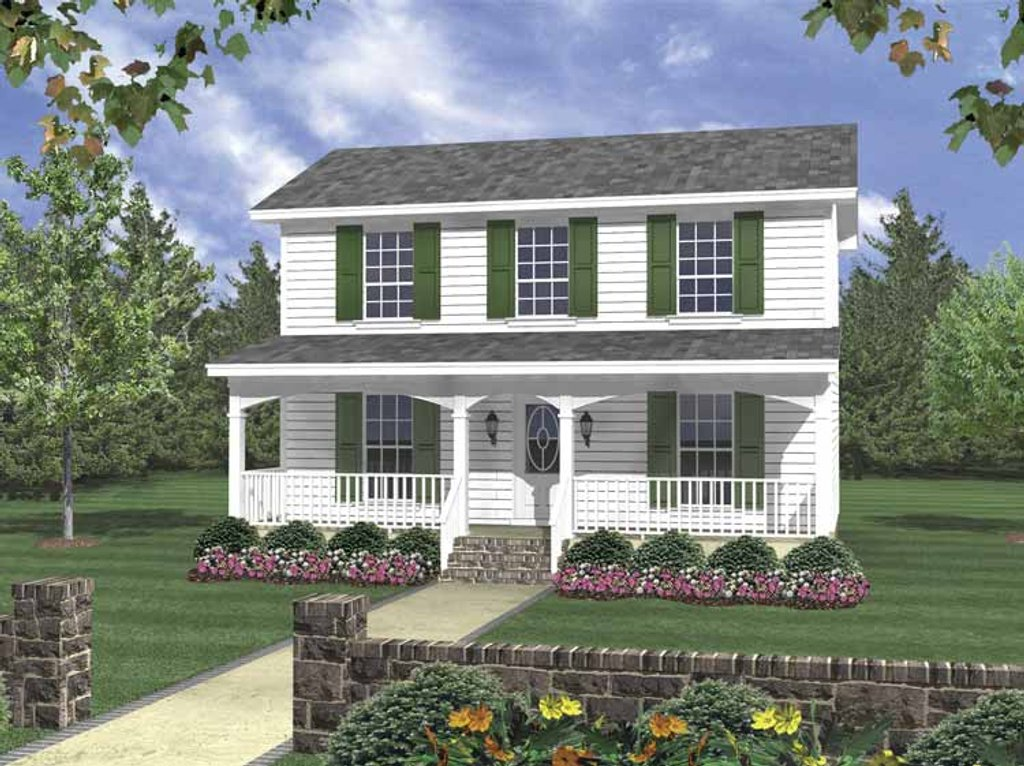 Floor Elevation Cheat Sims 2 : Traditional style house plan beds baths sq ft