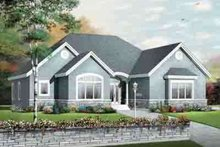 Dream House Plan - Traditional Exterior - Front Elevation Plan #23-647