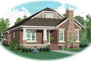 Traditional Style House Plan - 3 Beds 2 Baths 2842 Sq/Ft Plan #81-441 Exterior - Front Elevation