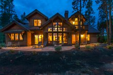 Craftsman style house design, elevation photo
