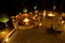 Patio - 7000 square foot Traditional home
