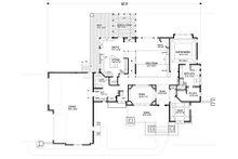 Craftsman Floor Plan - Main Floor Plan Plan #56-592