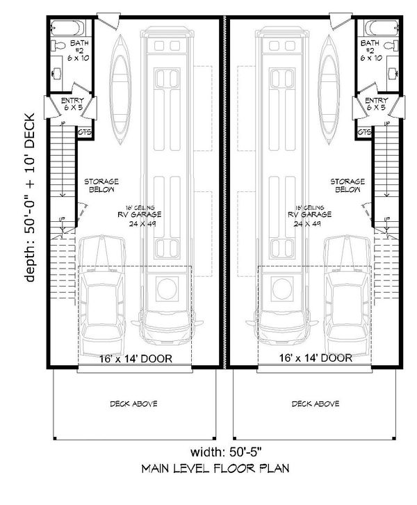 Dream House Plan - Contemporary Floor Plan - Main Floor Plan #932-179