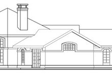 Home Plan - Exterior - Other Elevation Plan #124-249