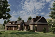 Dream House Plan - Craftsman Exterior - Other Elevation Plan #923-21