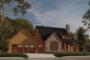 House Design - Craftsman Exterior - Front Elevation Plan #923-178