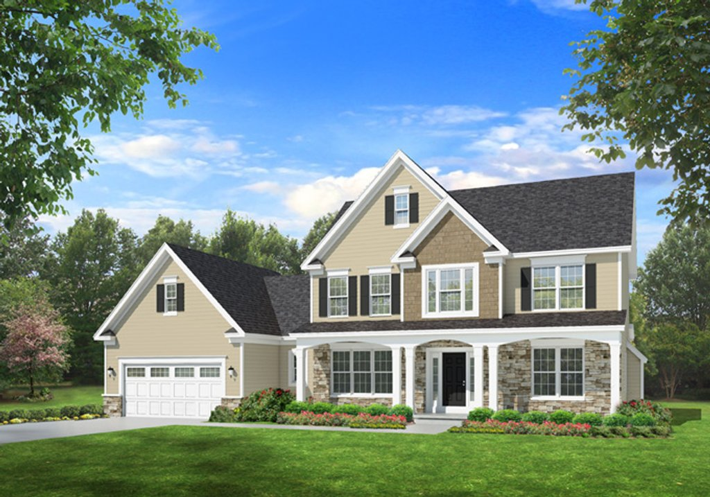 Traditional Style House Plan - 4 Beds 2.5 Baths 2716 Sq/Ft ...