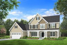 House Plan Design - Traditional Exterior - Front Elevation Plan #1010-94