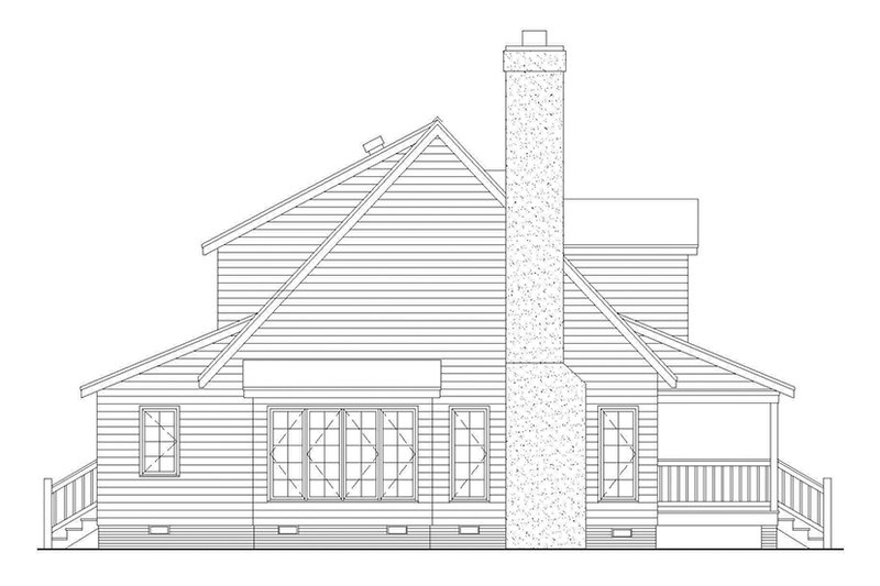 Country Exterior - Other Elevation Plan #929-201 - Houseplans.com