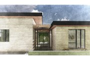 Modern Style House Plan - 3 Beds 2 Baths 2052 Sq/Ft Plan #498-4 Exterior - Front Elevation