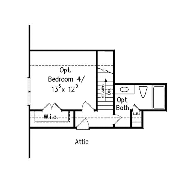 Colonial Floor Plan - Other Floor Plan Plan #927-669