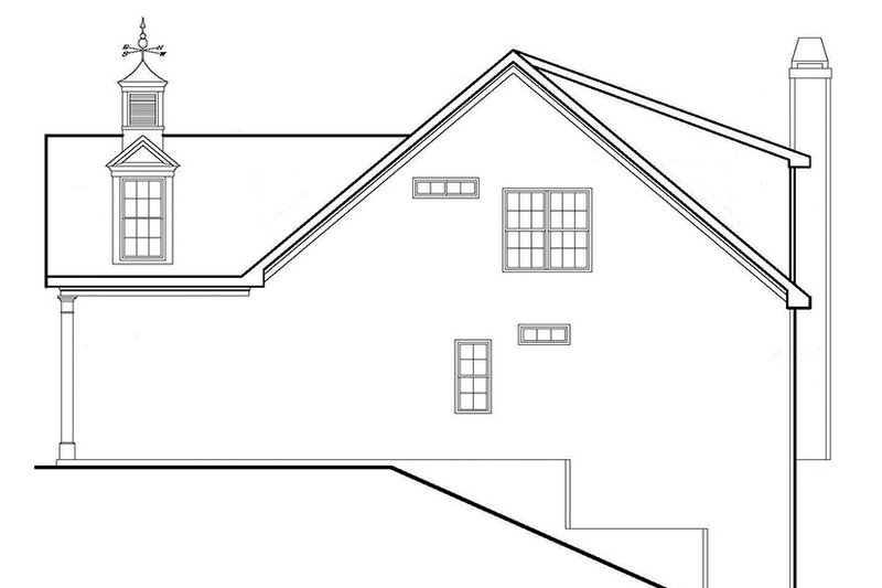 Country Exterior - Other Elevation Plan #927-559 - Houseplans.com