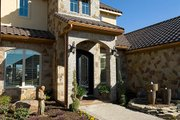 Mediterranean Style House Plan - 3 Beds 3.5 Baths 3633 Sq/Ft Plan #472-4 Exterior - Front Elevation