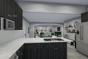 Traditional Style House Plan - 3 Beds 2.5 Baths 2026 Sq/Ft Plan #1060-49 Interior - Kitchen