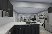 Dream House Plan - Traditional Interior - Kitchen Plan #1060-49