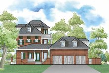 Home Plan - Traditional Exterior - Rear Elevation Plan #930-359