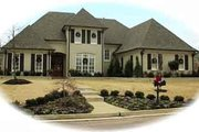 European Style House Plan - 5 Beds 4 Baths 3985 Sq/Ft Plan #81-1184 Exterior - Front Elevation