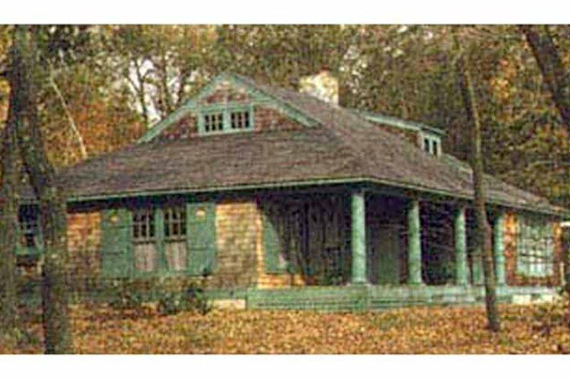 Country Exterior - Rear Elevation Plan #961-1 - Houseplans.com