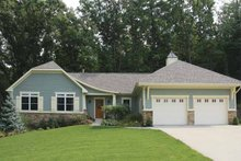 House Plan Design - Craftsman Exterior - Front Elevation Plan #928-145
