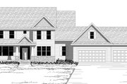 Craftsman Style House Plan - 4 Beds 3 Baths 3198 Sq/Ft Plan #51-500 Exterior - Other Elevation