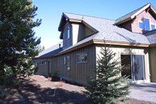 Craftsman style home design, elevation photo