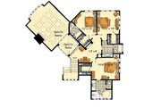 Craftsman Style House Plan - 5 Beds 5 Baths 5876 Sq/Ft Plan #942-16 Floor Plan - Upper Floor Plan