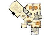 Craftsman Style House Plan - 5 Beds 6.5 Baths 5876 Sq/Ft Plan #942-16 Floor Plan - Upper Floor