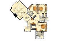 Craftsman Floor Plan - Upper Floor Plan Plan #942-16