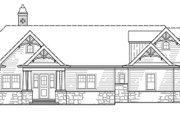 Craftsman Style House Plan - 4 Beds 3.5 Baths 2251 Sq/Ft Plan #119-425 Exterior - Front Elevation
