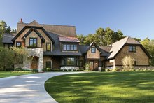 Dream House Plan - Craftsman Exterior - Front Elevation Plan #928-32