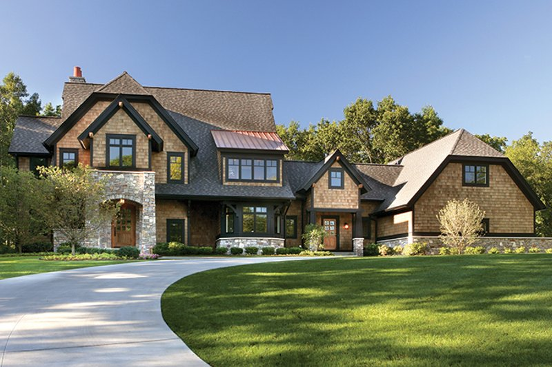 House Plan Design - Craftsman Exterior - Front Elevation Plan #928-32