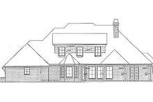 Dream House Plan - European Exterior - Rear Elevation Plan #310-696