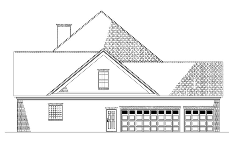 Colonial Exterior - Other Elevation Plan #17-2803 - Houseplans.com