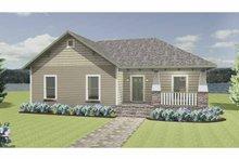 Craftsman Exterior - Front Elevation Plan #44-217
