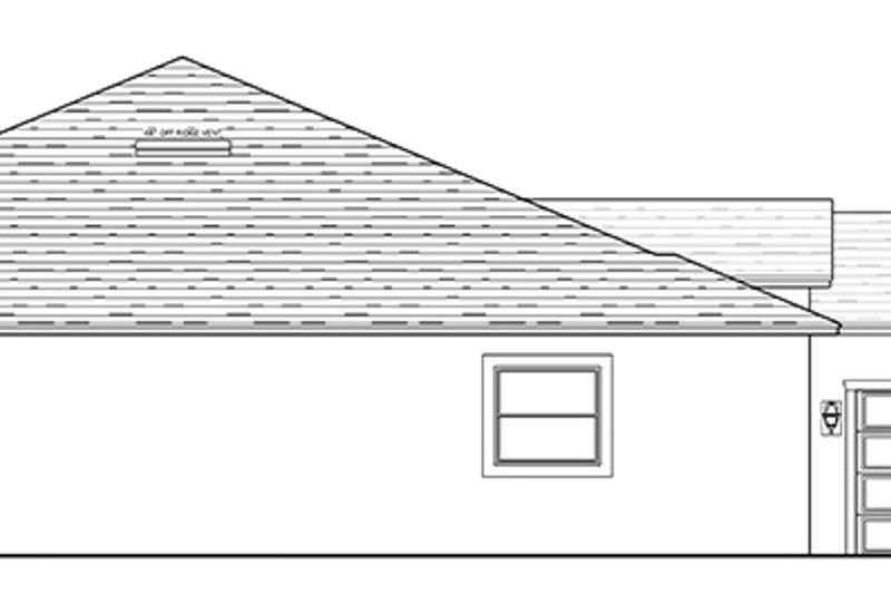 Mediterranean Exterior - Other Elevation Plan #1058-128 - Houseplans.com