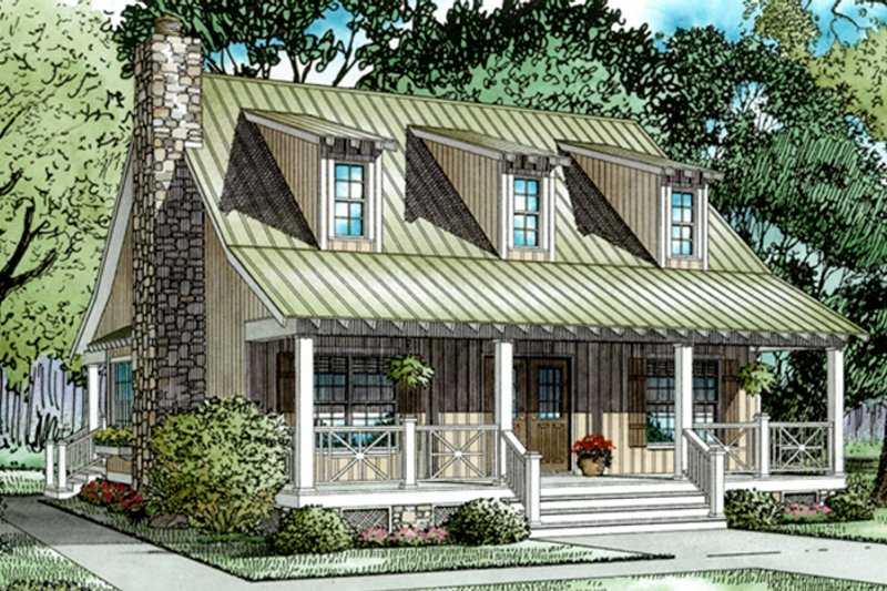 Colonial Exterior - Front Elevation Plan #17-2882 - Houseplans.com