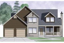 Country Exterior - Front Elevation Plan #945-34
