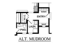 Country Floor Plan - Main Floor Plan Plan #1010-89