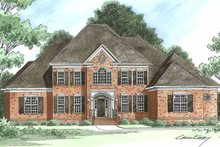 House Plan Design - Traditional Exterior - Front Elevation Plan #1054-3