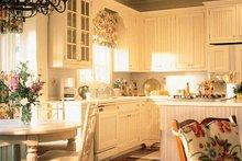 Dream House Plan - Country Interior - Kitchen Plan #429-308