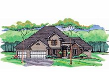 House Plan Design - Colonial Exterior - Front Elevation Plan #51-1039