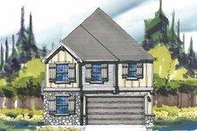 Craftsman Exterior - Front Elevation Plan #509-272