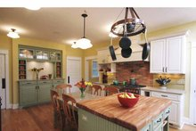 Architectural House Design - Craftsman Interior - Kitchen Plan #928-39